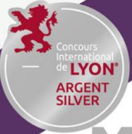 Médaille d'argent au concours international de Lyon 2019