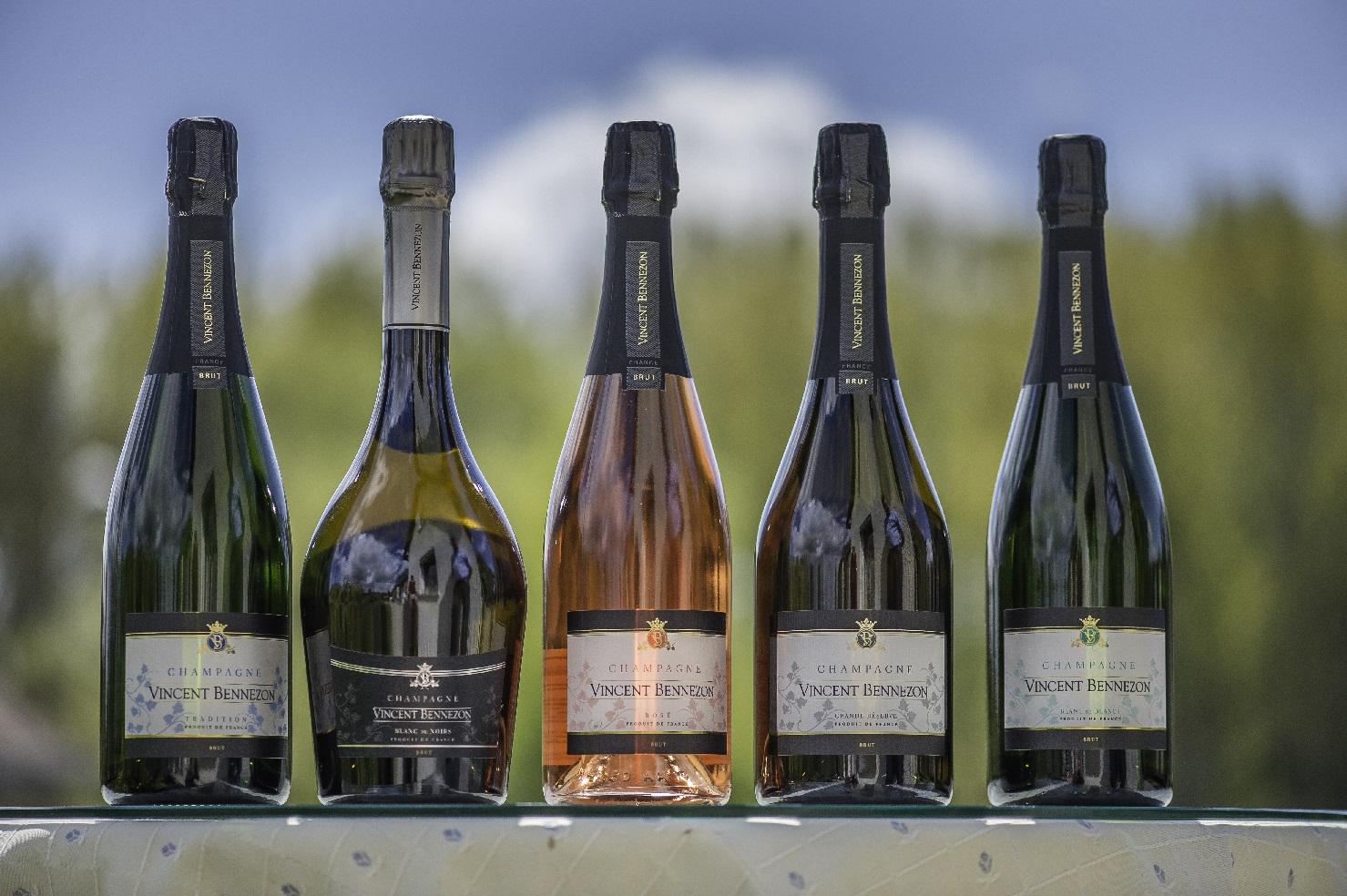 gamme champagne Vincent Bennezon